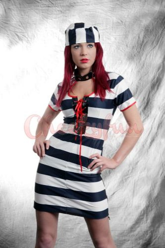Convict Cutie - Sexy Fancy Dress